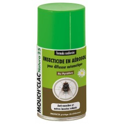 Recharge Diffuseur Insecticide naturel Mouch'Clac Natura 25 Protecta