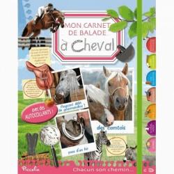 Mon carnet de balade à cheval Collectif Editions Piccolia
