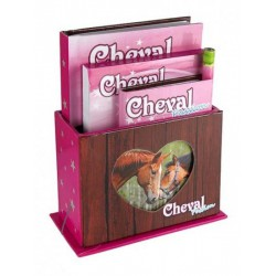 COFFRET PAPETERIE CHEVAL