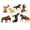 Stickers grand format Cheval Passion