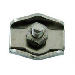 RACCORD CORDELETTE SIMPLE ECROU 5 MM  ( vendu par 5)