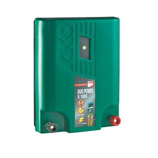 "ELEC/S DUO POWER ""2 EN 1"" 220V/BATTERIE CAVALLO X1  AKO"