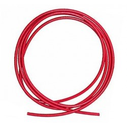 CABLE ROUGE ISOLE HAUTE TENSION  DETAIL AU METRE LGE
