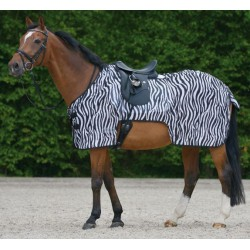 Couvre-reins anti-mouches cheval Zebra Waldhausen