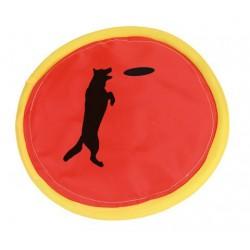 JOUET CHIEN TEXTILE : FRISBEE NYLON 24 cm