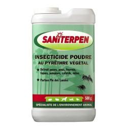 SANITERPEN POUDRE INSECTICIDE 500 G (tiques, puces , poux )