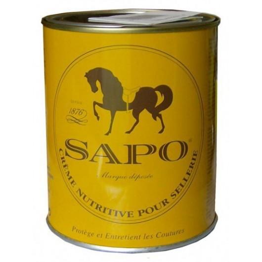 SAPO boite de 750 ml (crème nutritive pour cuirs de sellerie)