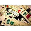 LACETS x2 CORDELET ROND TRESSé /s blister GRISON fdc