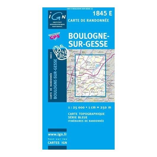 L/CARTE 1845E BOULOGNE S/GESSE