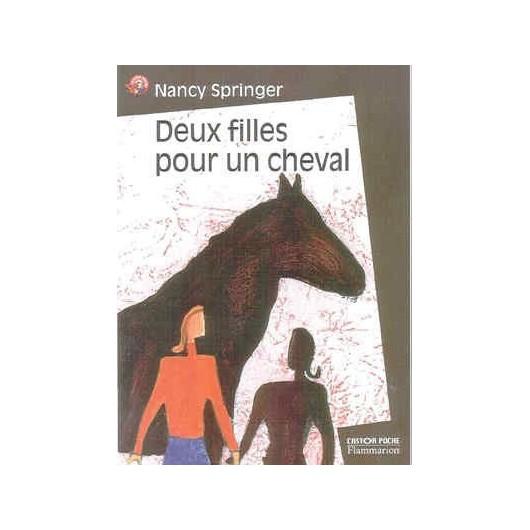 L/CASTOR POCHE-DEUX FILLES POUR UN CHEVAL(435)