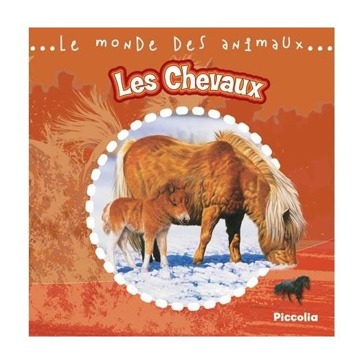 L/CHEVAUX-LE MONDE DES ANIMAUX (piccolia)