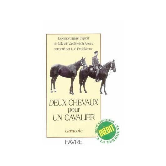 L/DEUX CHEVAUX POUR UN CAVALIER (favre)ATTENTE REIMPRESSION 31/10/11