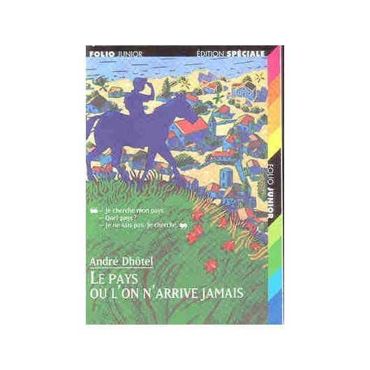 L/PAYS OU L'ON ARRIVE (464 folio junior)