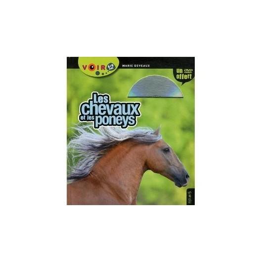 L/CHEVAUX ET PONEYS livre + dvd ( fleurus )