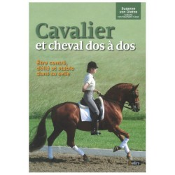 Cavalier et cheval dos à dos  Béatrice Fletcher, Suzanne von Dietze Editions Belin