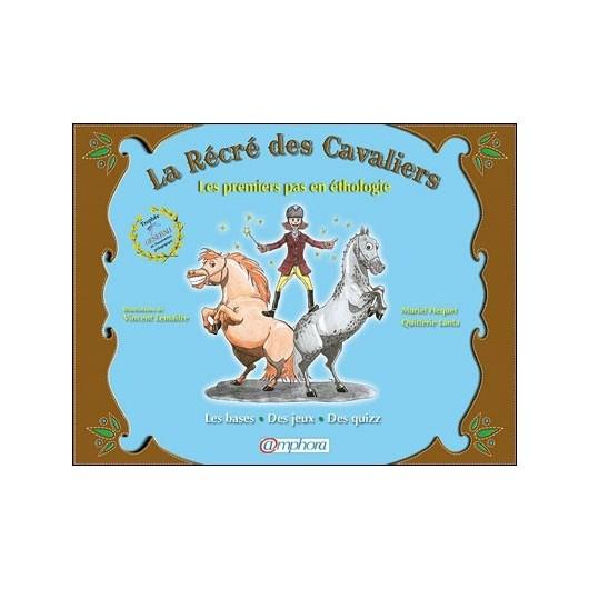 L/RECRE DES CAVALIERS-1° PAS EN ETHOLOGIE (amphora)*