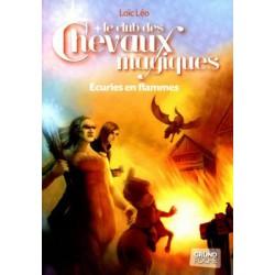 L/LE CLUB DES CHEVAUX MAGIQUES-ECURIES EN FLAMMES N108 (grund)