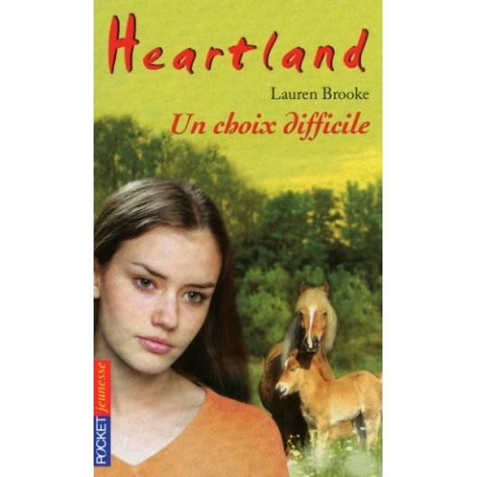 L/HEARTLAND 35-UN CHOIX DIFFICILE (pocket jeunesse)