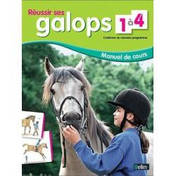 GALOPS 1 A 4 -REUSSIR - nouveau programme belin