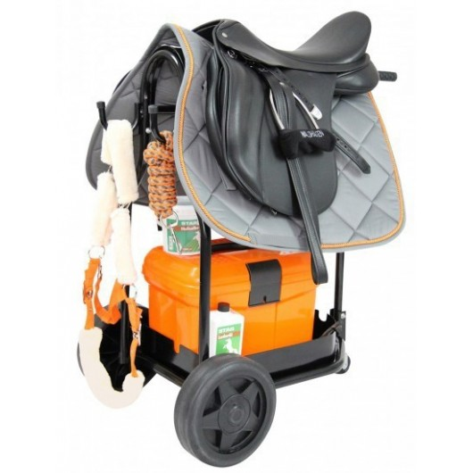Chariot porte-selle à roulettes Waldhausen