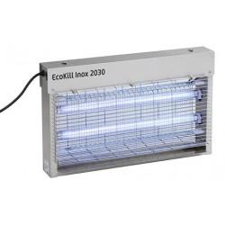 TUE-MOUCHES ELECTRIQUE EcoKillINOX 2 x 15 W inox