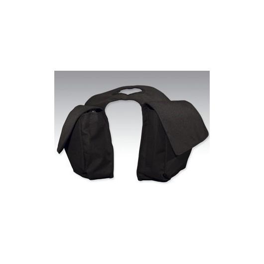 SACOCHES AVANT WESTERN CORDURA 600D noir