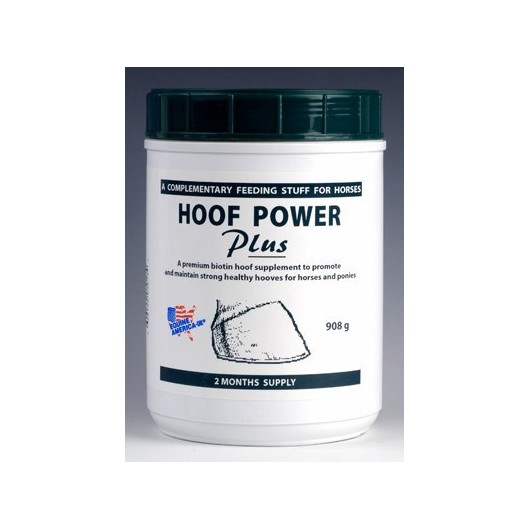HOOF POWER PLUS poudre E 908 gr biotine EQUINE AMERICA