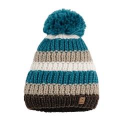 Bonnet laine avec pompon Pikeur