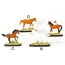 Statue résine cheval 15 cm