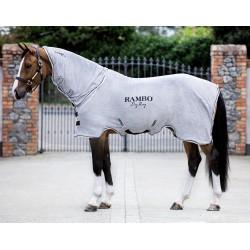 Chemise séchante cheval microfibre avec couvre-cou Rambo dry Horseware
