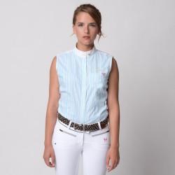 Chemise de concours sans manches Femme Starck Shirt Horse Pilot