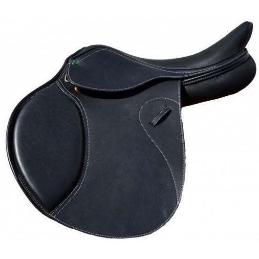 Selle mixte cuir doublé CVHTec Cavalhorse