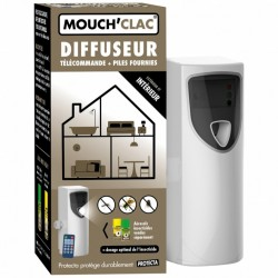 Diffuseur Insecticide naturel Mouch'Clac Protecta