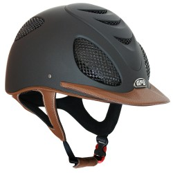 Casque d'équitation Speed'Air Leather 2X GPA