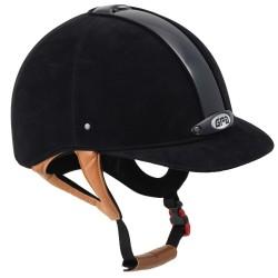 Casque d'équitation velours Classic Velvet 2X GPA