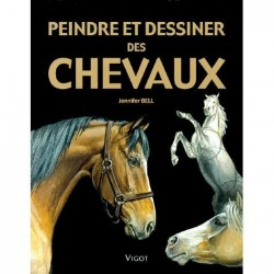 Peindre et dessiner des chevaux Jennifer Bell Editions Vigot