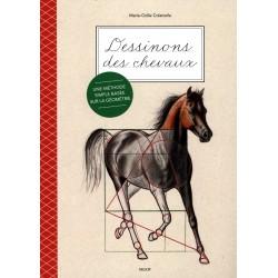 Dessinons des chevaux Marie Odile Colatrella Editions Vigot