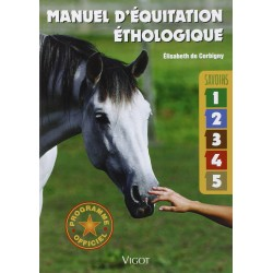 Manuel d'équitation éthologique Elisabeth de Corbigny Claude Lux Editions Vigot