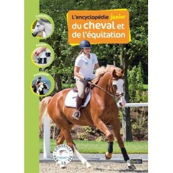 L'encyclopédie junior du cheval et de l'équitation Guillaume Henry Editions Belin