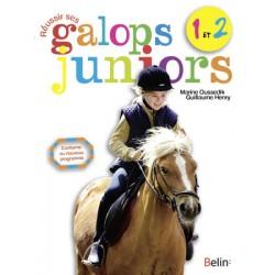 Réussir ses galops juniors 1 et 2 Marine Oussedik Guillaume Henry Editions Belin