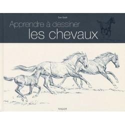 Apprendre à dessiner les chevaux Sam Savitt Editions Vigot