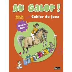 Au galop ! Cahier de jeux, Spécial Quizz Marine Oussedik Editions Belin