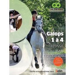Galops 1 à 4 réussir avec l'éthologie Collectif Editions Belin