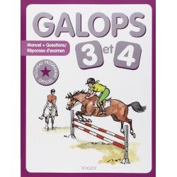 Galops 3 et 4, Nouveau programme officiel Collectif Editions Vigot