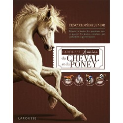 Larousse junior du cheval et du poney Sandy Ransford Editions Larousse