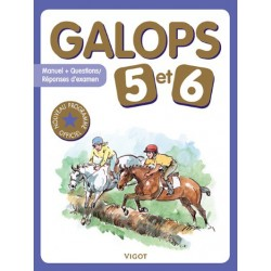 Galops 5 et 6, Nouveau programme officiel Collectif Editions Vigot