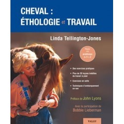 Cheval : éthologie et travail Linda Tellington-Jones Editions Vigot