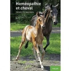 Homéopathie et cheval, Conseils thérapeutiques Dr Jacqueline Peker Dr Marie-Noëlle Issautier Editions Vigot