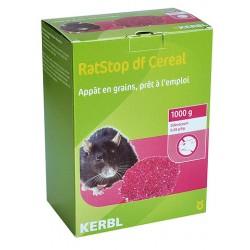 Souricide Raticide en grain 1 kg RatStop DF Céréales