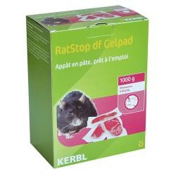 Souricide Raticide en pâte 1 kg Ratstop